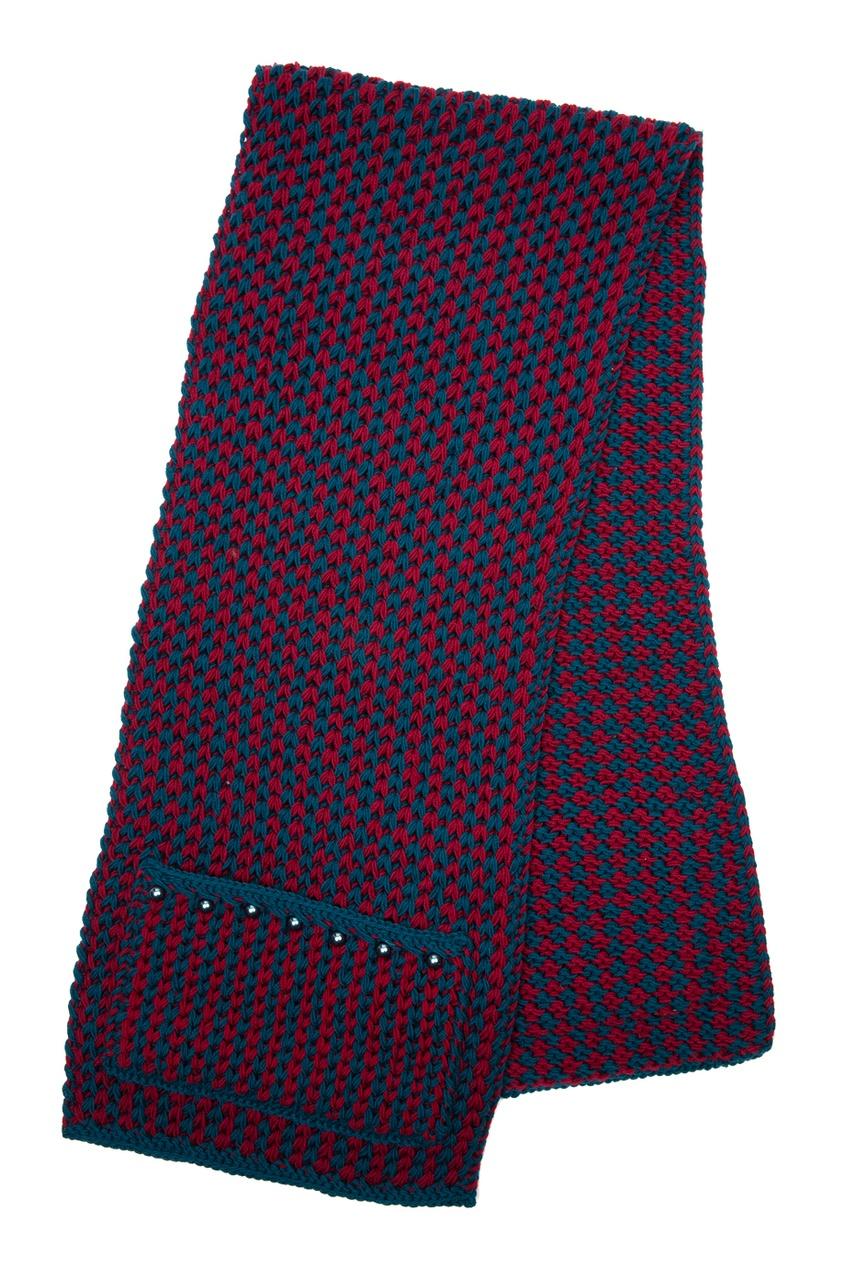 Шерстяной шарф от AIZEL