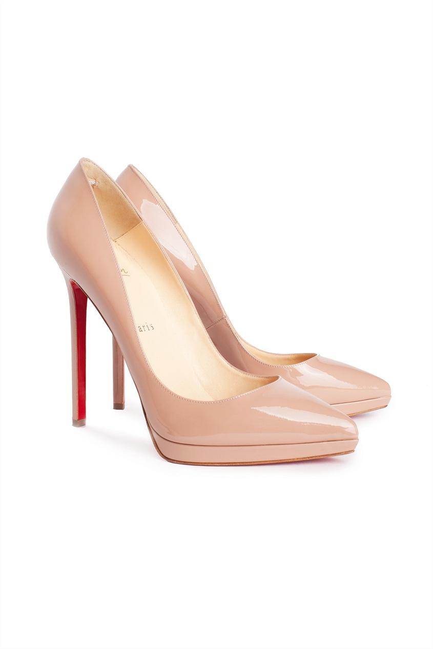 Лакированные туфли Pigalle Plato Christian Louboutin - Christian Louboutin, Обувь, Туфли, вид 2